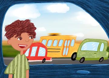 Lookig_through_window (school bus)